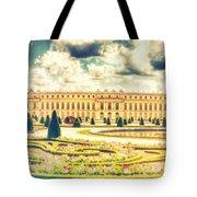 Shabby Chic Hdr Panorama Versailles Paris Tote Bag
