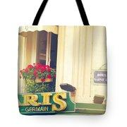 Shabby Chic Paris Saint Germain Tote Bag
