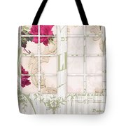 Shabby Cottage French Doors Tote Bag