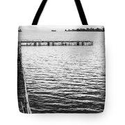 Shabby Nautical Style Tote Bag