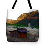 Shack In The Canyons Tote Bag