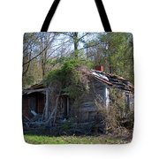Shack In The Wood Tote Bag