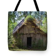 Shack In The Woods Tote Bag