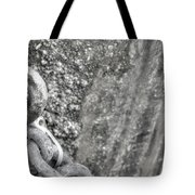 Shackled Not Chained Tote Bag