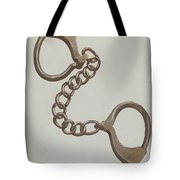 Shackles Or Leg Irons Tote Bag