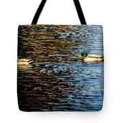 Shade And Sunlight - Mallard Ducks Tote Bag