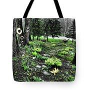 Shade Garden Tote Bag