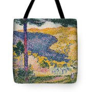 Shade On The Mountain Tote Bag