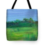 Shaded Meadow Tote Bag