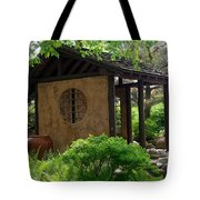 Shaded Oasis Tote Bag