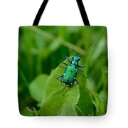 Shades Of Green Tote Bag