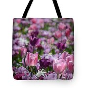 Days Of Wine And Tulips Tote Bag