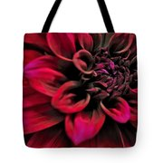 Shades Of Red - Dahlia Tote Bag by Kaye Menner