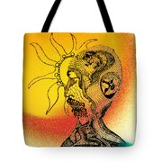 Shades Of The Seventies Tote Bag