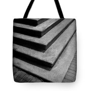 Shadow And Steps Tote Bag