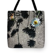 Shadow Daisy Tote Bag