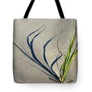Shadow Grass Tote Bag