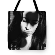 Shadow Heart Tote Bag