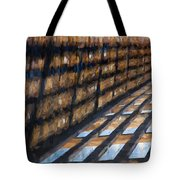 Shadow In Paint Tote Bag
