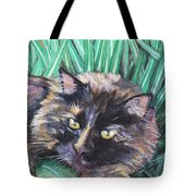 Shadow In The Grass Tote Bag