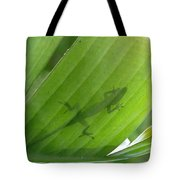 Shadow Lizard Tote Bag