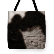 Shadow Of Horse And Girl - Vertical Tote Bag