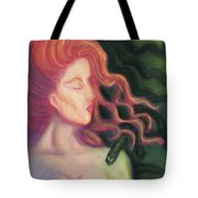 Shadow Of Medusa Tote Bag