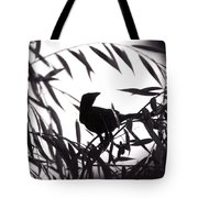 Shadow Of The Crow Tote Bag
