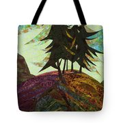 Shadow Of The Evening Tote Bag