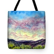 Shadow Of The Valley Tote Bag
