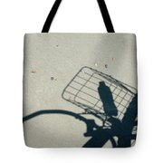 Shadow On The Beach Tote Bag