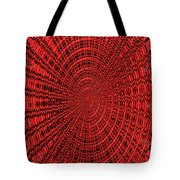 Shadow On The Path Abstract #2 Tote Bag