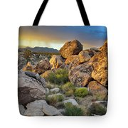 Shadow Valley Magic Hour Tote Bag by Kyle Hanson