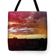 Shadow Valley Mojave Sunset Tote Bag by Kyle Hanson