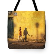 Shadow Walking Tote Bag by Marla Craven