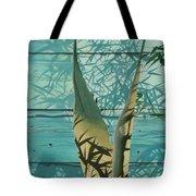 Shadowed Agave Tote Bag