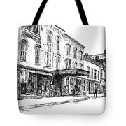 Shadowland Theater Tote Bag