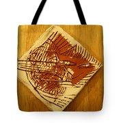 Shadows - Tile Tote Bag