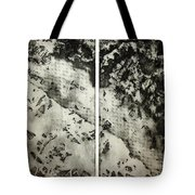 Shadows And Lace Tote Bag