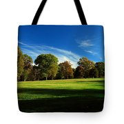 Shadows And Trees Of The Afternoon - Monmouth Battlefield Park Tote Bag
