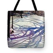 Shadows Dancing Tote Bag