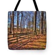 Shadows In Autumn Tote Bag