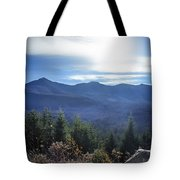 Shadows Of The Majestic , White Mountains Tote Bag