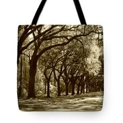 Shadows Of The South Tote Bag