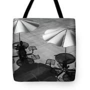 Shadows On Campus Tote Bag