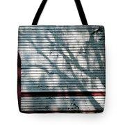 Shadows On Churchdoor Tote Bag