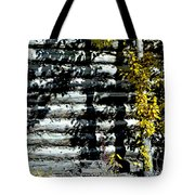 Shadows On The Past Posterized Tote Bag