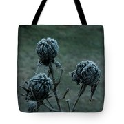 Shadowy Frozen Pods From The Darkside Tote Bag
