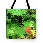 Shady Composition Tote Bag