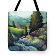 Shady Creek Tote Bag